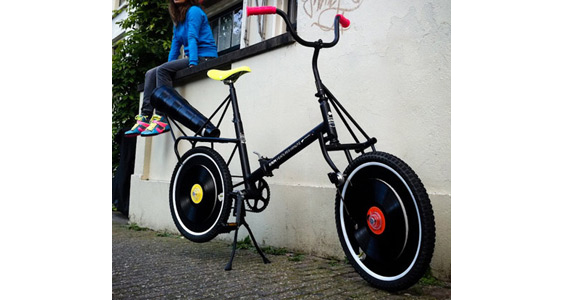 dezeen Record bicycle