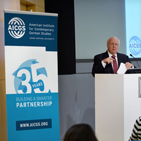 AICGS Standing Banner - 35th Anniversary