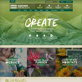Garden for Wildlife website