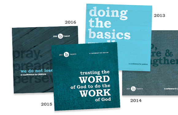 Basics Conference programs over the years