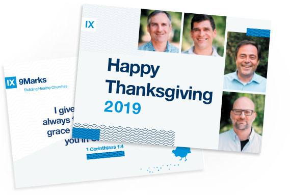 9Marks Thanksgiving Card