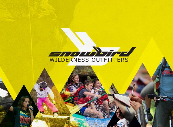 Snowbird Wilderness Outfitters promotional design