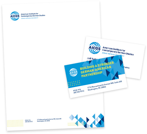 AICGS Letterhead and Business Card