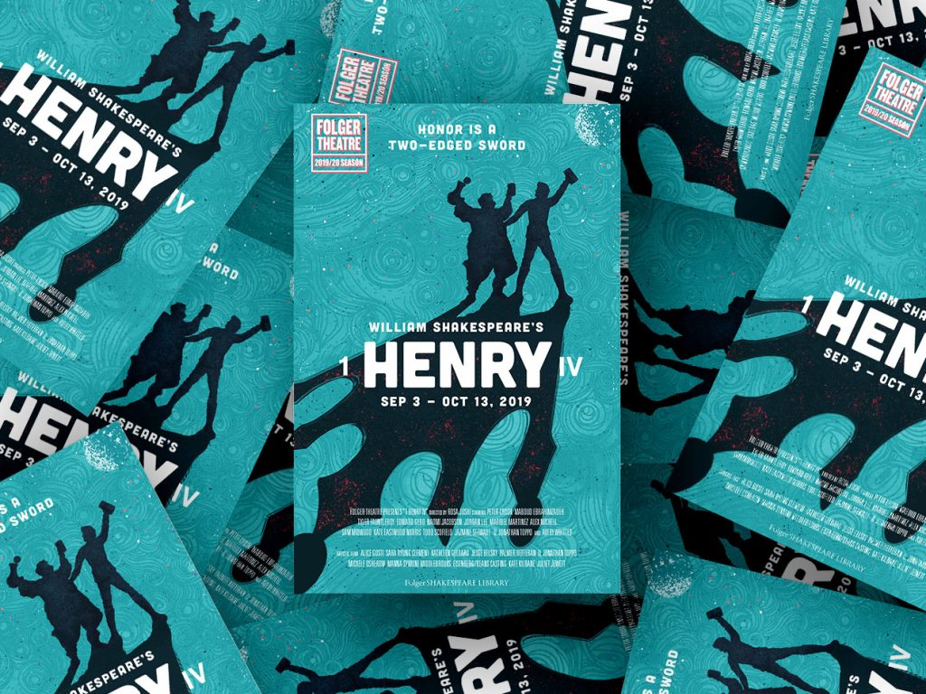 Shakespeare Henry IV Play artwork and design