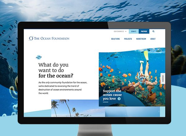 The Ocean Foundation - Website Design and Development