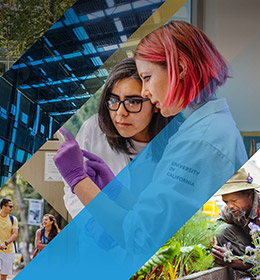 University of California - Sustainability Annual Report graphics
